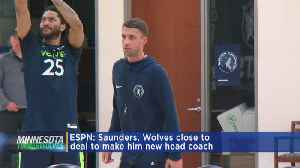 Wolves To Reportedly Name Ryan Saunders Coach [Video]