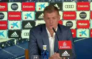News video: I want to end my career at Real, says Kroos
