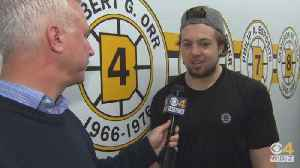Sports Final: Dan Roche Goes 1-on-1 With Bruins Defenseman Charlie McAvoy [Video]