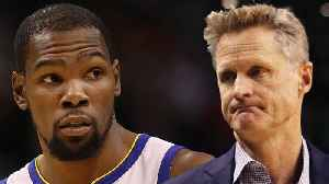Kevin Durant CLAPSBACK On IG! Unhappy With Steve Kerr For Not Making Him Centerpiece Of Warriors [Video]