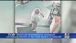 Police Search For Man Who Allegedly Tried To Kidnap Boy Outside West Yarmouth Store [Video]