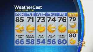 New York Weather: 5/20 CBS2 Afternoon Weather Headlines [Video]