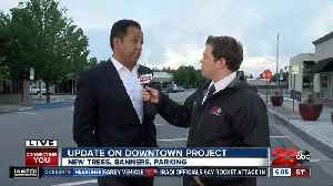 Renovations and beautification added to Downtown Bakersfield [Video]