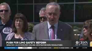 Schumer Gives NTSB Earful Over Limo Regulations [Video]
