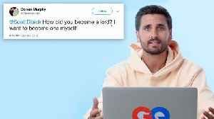 Scott Disick Goes Undercover on the Internet [Video]