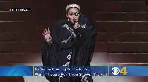 Madonna Coming To Boston's Wang Theatre For 3 Shows This Fall [Video]