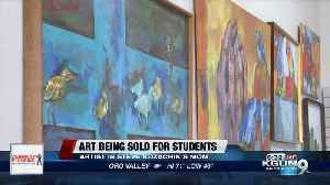 Artwork by Tucson council member's late mother for sale, proceeds go to student scholarships [Video]