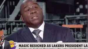 Magic Johnson CALLS Out Lakers GM Rob Pelinka For BETRAYAL! Spills MAJOR Tea On WHY He Left [Video]