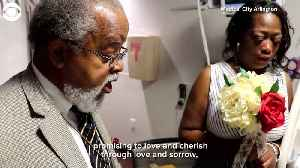 WEB EXTRA: Hospital Bedside Wedding [Video]