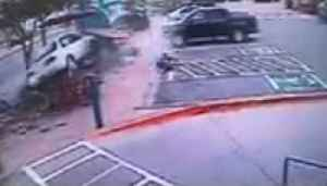 Disturbing Video Shows Moment Car Crashed Into Dairy Queen Patio [Video]