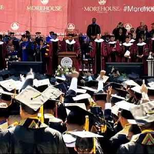 Billionaire pays off $40 million in student loans for graduating class [Video]