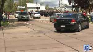 Funeral procession for Appleton Firefighter Mitch Lundgaard [Video]