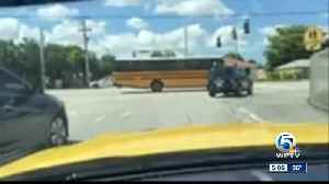 Mother says school bus driver dropping off daughter at wrong side of the road [Video]