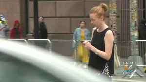 News video: States Aim To Make Texting While Walking Illegal