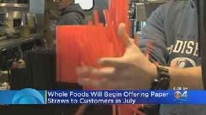 Whole Foods To Ban Plastic Straws, Offer Smaller Produce Bags [Video]