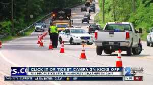 Seatbelt enforcement kicks off Maryland Click It or Ticket Campaign [Video]