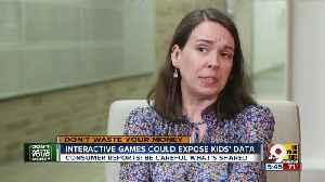 Internet-connected games, toys could expose your kids' data [Video]