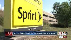 FCC chairman voices support of Sprint, T-Mobile merger [Video]