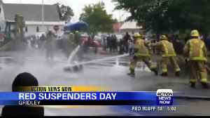 Red Suspenders Day in Gridley 2019 [Video]