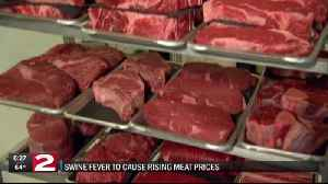 Swine fever to blame for rising meat prices [Video]