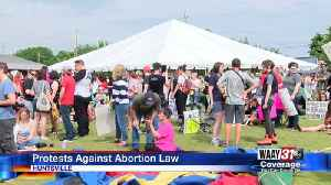 Protests Against Abortion Law [Video]