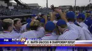 St. Martin gracious in championship defeat [Video]