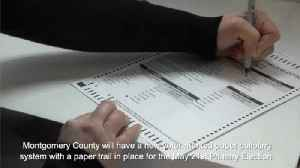 VIDEO Montgomery County launches new voting system Tuesday [Video]