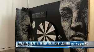 Exhibit tells story of artist's struggles with mental health [Video]