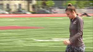 UWL's Savannah Rygiewisz to compete in four events at National Championships [Video]