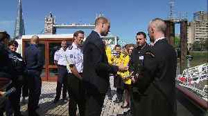 Prince William launches #SaferThames anti-drowning campaign [Video]