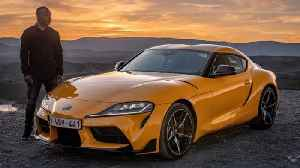 The new Toyota Supra feels suspiciously like a BMW Z4 [Video]