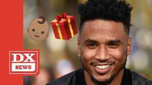 Trey Songz Reveals Newborn Baby ... & His Female Fans Completely Lose It [Video]