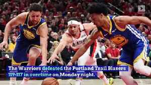 Warriors Sweep Blazers to Reach Fifth Straight NBA Finals [Video]
