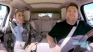Celine Dion Rides Around Town in Sin City With James Corden | Billboard News [Video]