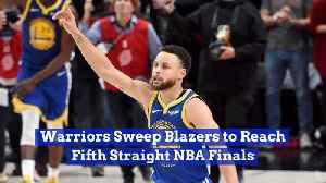 The Warriors Take Another Trip To The NBA Finals [Video]