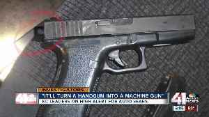 Missouri, Kansas authorities searching for modified handguns [Video]
