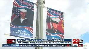 New banners downtown honor active duty service members [Video]