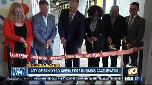 City of San Diego opens its first business accelerator [Video]