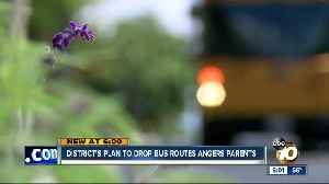 District's plan to drop bus routes angers parents [Video]