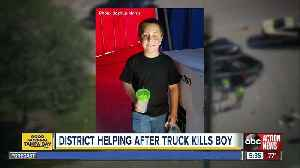 Memorial grows for boy hit, killed by truck in Sarasota [Video]