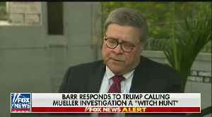 "Attorney General Bill Barr: Nancy Pelosi and others are trying to ""discredit me [Video]"