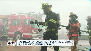 State bill would give volunteer firefighters and EMT's tax break [Video]
