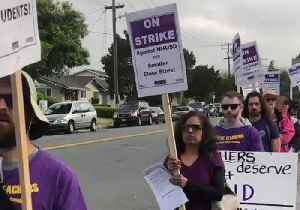 Teachers Strike Over Pay in Union City, California [Video]
