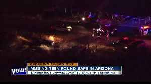 Missing Jerome teen found safe in Arizona [Video]