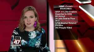 MSP: Deadly crashes dropped in 2018 [Video]