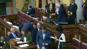 Jailed Catalan leaders sit in Spanish parliament [Video]