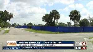 CDC collecting ground water samples at Dunbar sludge site [Video]