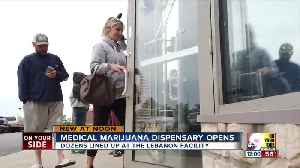 Greater Cincinnati's first medical marijuana dispensary opens [Video]