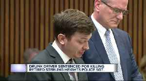 Drunk driver sentenced for killing retired Sterling Heights Police Sgt. [Video]