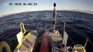 Crewless ship prepares for transatlantic crossing [Video]